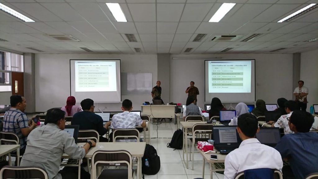 Pelatihan software Hec GeoHMS