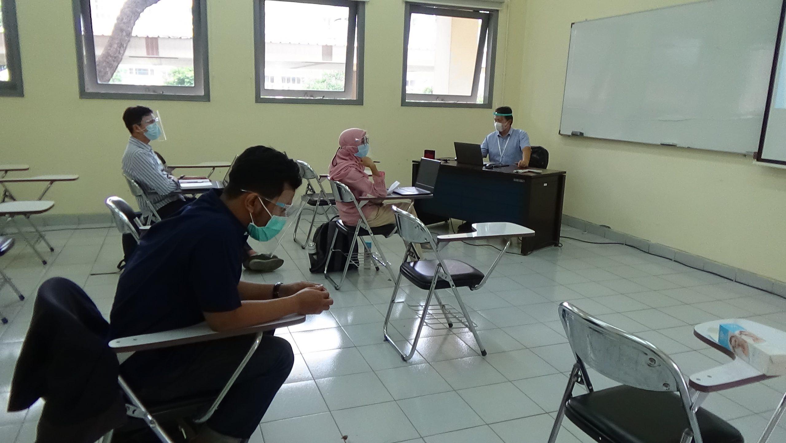 Penyelenggaraan Kuliah Hybrid di ITB Kampus Jatinangor untuk Program S2